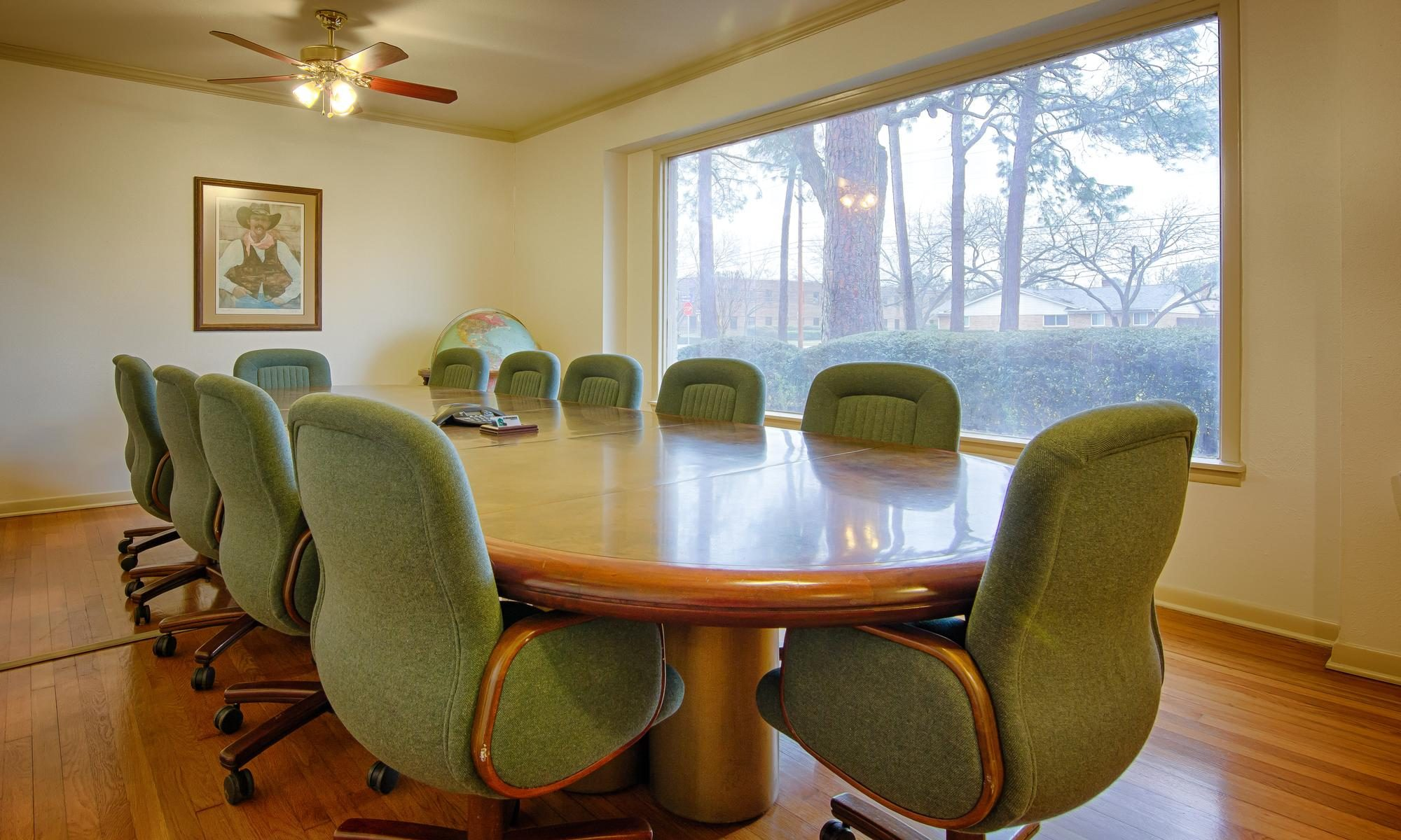 W Michael Greene office conference room